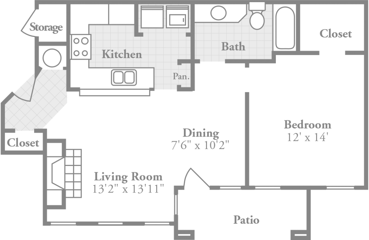 living room floor plan deluxe style apartment crowne oaks stylish apartments 12440